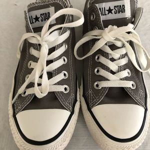 Converse Gray Chuck Taylor All Star Low Tops